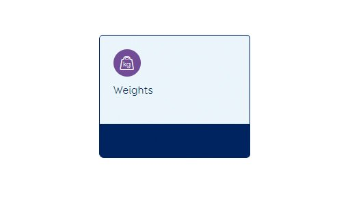 MINDA weights tab