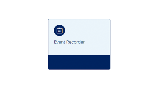 Event recorder