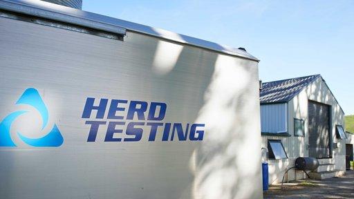 Herd Testing van