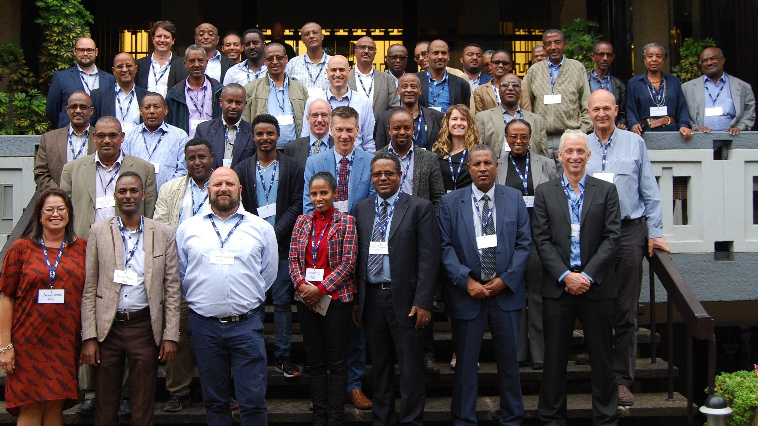 LIC representatives Ethiopia