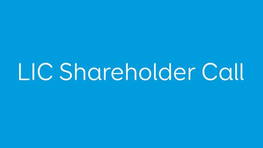 Shareholder call