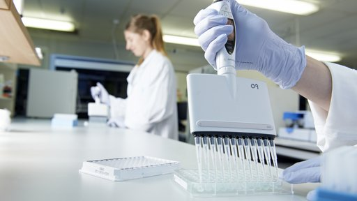 genetic research lab image